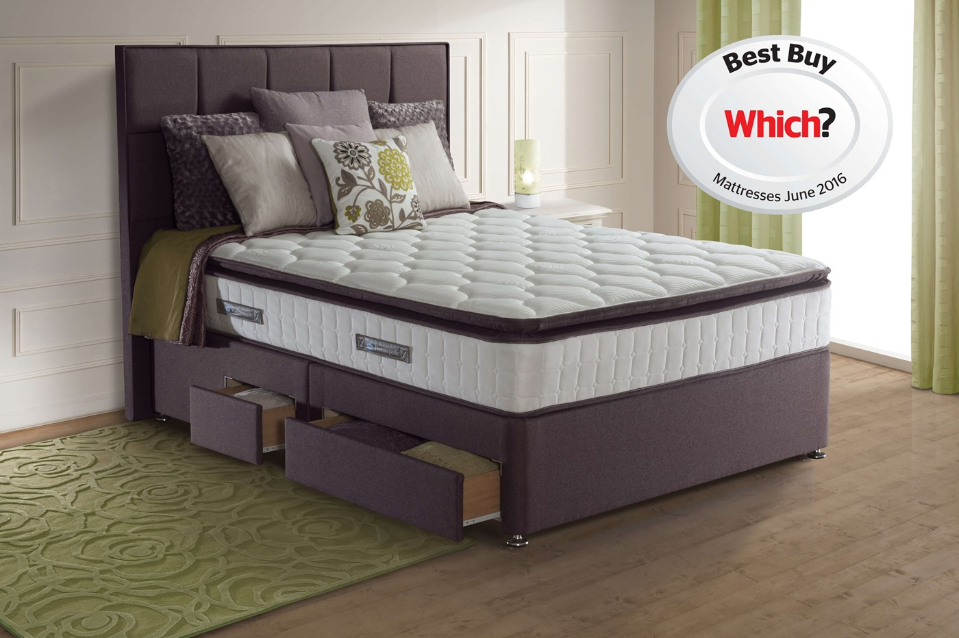 Lindisfarne Headboard Beds Sealy Posturepedic