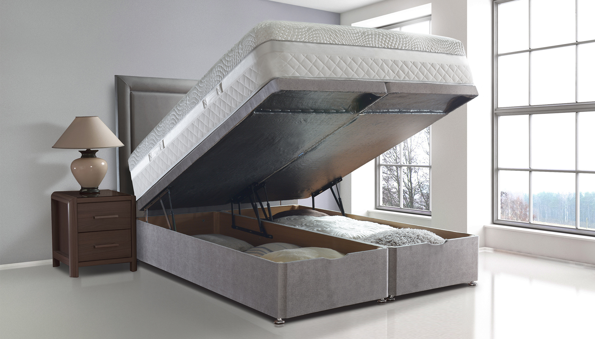 Beds Storage Options
