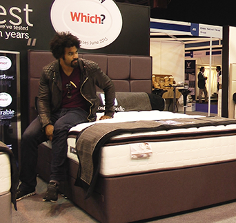 David Haye On Sealy Bed