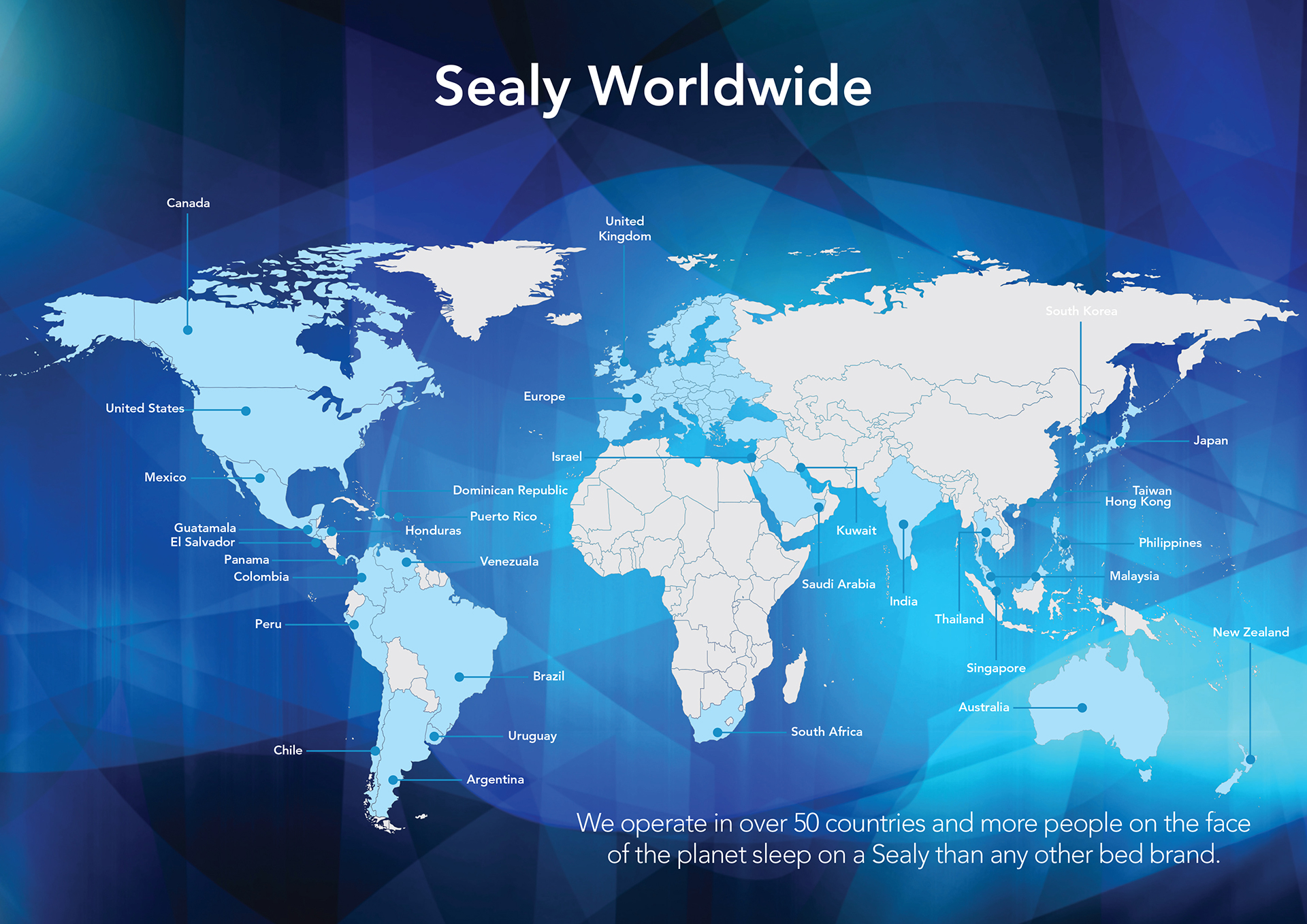 Sealy World Map